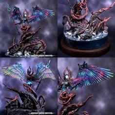 Warhammer Wood Elves, Warhammer 40k, Fantasy Creatures, Mythical Creatures, Thousand Sons, Wood Elf, Warhammer Models, Fantasy Miniatures, Fantasy Weapons