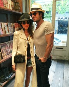 Ian Somerhalder and Nikki Reed Celebrate Their Nuptials with a Vintage Shopping Spree http://www.people.com/article/Ian-somerhalder-treats-nikki-reed-vintage-shopping-spree