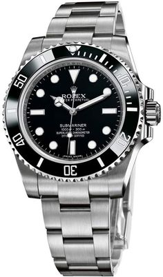 Find the best Rolex Submariner price for Rolex Submariner Watch: steel - 114060 model Rolex Submariner Gold, Rolex Submariner 16610, Rolex Gmt, Rolex Daytona Gold, Gold Rolex, Black Rolex, Diesel Watches For Men, Rolex Watches For Men, Fine Watches