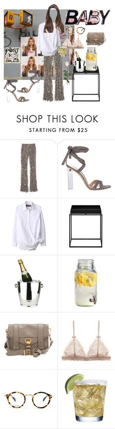 """""""Dagsfest - outfit"""" by bianca-gasparetti ❤ liked on Polyvore featuring Michael Kors, Gianvito Rossi, Winco, Proenza Schouler, CÉLINE and Sia"""