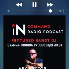 #BeInCommand of your music @salivacommandos @djhexhector   IN:COMMAND Podcast Episode 2 http://soundcloud.com/in-command-records/incommand-radio-episode-002