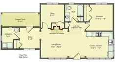 Tiny Romantic Cottage House Plan | Here are some pictures of a Newcomb cottage built on slab, built by ...