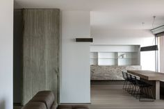 Penthouse in Oostende Belgium by Pascal François - Picture by Thomas De Bruyne - cafeine.be