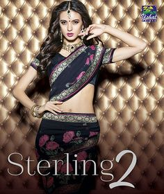 Give Yourself a Gorgeous Look with #VishalSterling Exclusive #PartyWear Ethnic Sarees Catalogs at @textiledeals