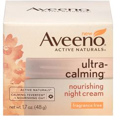 Aveeno Ultra-Calming Nourishing Night Cream, 1.7 Oz -- This is an Amazon Affiliate link. To view further for this item, visit the image link.
