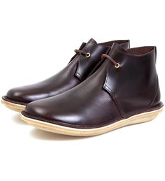 Burnt Brown Calf Leather The Saturday Afternoon Man Shoe