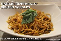 Oh man, back in college I used to love P.F. Changs and their garlic butter crack noodles. They were like the only thing I could afford on th...