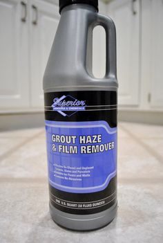 grout and tile - clean and seal