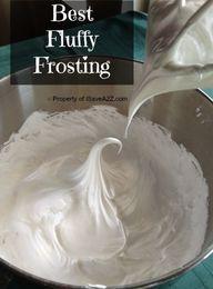 Best Fluffy Frosting