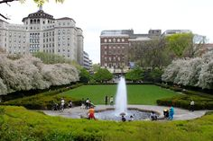 Central Park Conservatory Garden NYC- Rob proposed to me next to this fountain... It was amazing!! <3 8/12/11 :)