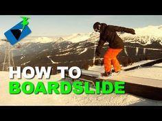 How to BOARDSLIDE - Snowboard Tricks Series 1.2 https://www.facebook.com/Snowboard-Equipment-174997816033563 #snowboardingtips