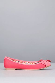 Mellow Yellow Ballerines Rouges Vadedy
