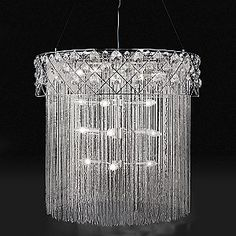 Gorgeous! Need to save up my pennies...lots and lots of them!!! Mistrel Chandelier by Eurofase