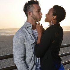 Beautiful Blasian couples interracial photography