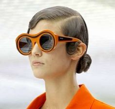 Prada Sunglasses Collection for 2011 is Geek-Chic #fashion trendhunter.com