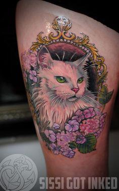 cat tattoo traditional - Pesquisa Google
