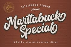 Marttabuck Script 40
