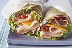 Tex-Mex Turkey Wraps recipe  Always looking for something different  and economical since we have retired.   I have more time to try things (poor Bobby)!