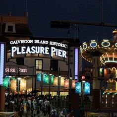 Pleasure Pier - Galveston, Texas