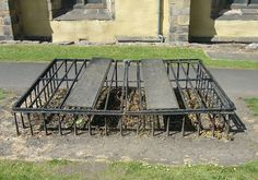 In Scotland two popular solutions arose. One was morthouses, circular buildings in graveyards where coffins would be stored until the bodies inside were too rotten to be of any use to anatomists and their hired snatchers. The second solution was to hire a watchman, either for one specific grave or the entire burial ground. The round, squat buildings constructed to protect the watchmen from the elements are still visible in some cemeteries. The manor cemetery at Boleskine House, for one…