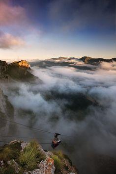 Teleférico de Fuente Dé, Picos de Europa #Cantabria #Spain #Travel