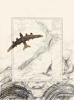 michel tuffery - Google Search Jr Art, Maori Art, Year 7, Moana, Printmaking, New Zealand, School Ideas, Vintage World Maps, Art Ideas
