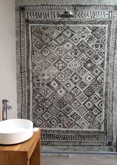 wasserfeste Tapete für das Bad