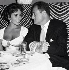 Elizabeth Taylor and Mike Todd                                                                                                                                                                                 More
