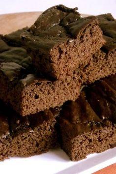 #Brownie com adoçante