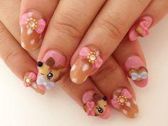 Bambi Japanese Nails