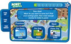 Money Metropolis, Financial Football, and More Money Skills Games
