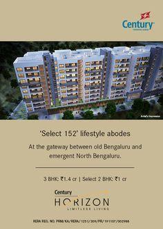 Luxury Apartments in Jakkur - Century Horizon