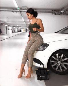 Pin by haylo on baddie in 2019 fashion, fashion outfits, chic outfits. Classy Outfits, Stylish Outfits, Stylish Clothes, Mode Outfits, Fashion Outfits, Fashion Fashion, Feminine Fashion, Fashion Women, Fashion Bible