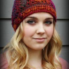 Effortless Chic Crochet Beanie