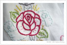 Sublime Stitching - Embroidery How To - Split Stitch
