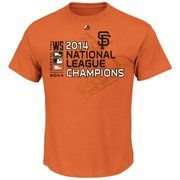 MLB San Francisco Giants Majestic 2014 MLB National League Champions Conquerors T-Shirt