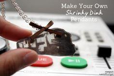 Tutorial: Shrinky Dink Pendants