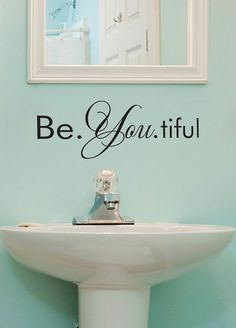 'Be You' Removable Wall Decal