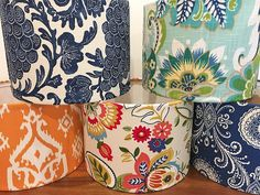 Gorgeous Fabrics, Lampshades, Upcycle, December, Instagram, Home Decor, Products, Homemade Home Decor, Lamp Shades