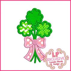 See It All - Clover Bouquet Applique 4x4 5x7 6x10 SVG - Welcome to Lynnie Pinnie.com! Instant download and free applique machine embroidery designs in PES, HUS, JEF, DST, EXP, VIP, XXX AND ART formats.