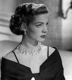 Lauren Bacall as 'Amy North' - 1950 - Young Man with a Horn