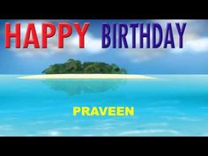 Praveen - Card Tarjeta_1037 - Happy Birthday