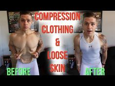 My Experience with Loose Skin & Compression Clothing - YouTube