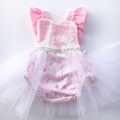 Unicorn birthday unicorn outfit first birthday by PookieWear