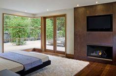 Warm and contemporary Menlo Park retreat