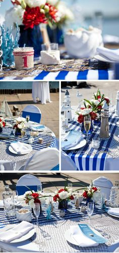 Nautical is my dream wedding theme, the navy blue, stripes, and there is something about a wedding by the sea. Even if we can't make it out to the shore on the special day, we can infuse our celebration with some beautiful nautical wedding details. Here are some ideas to prepare a memorable nautical wedding … Continue reading Have a Nautical Theme Wedding in 2013