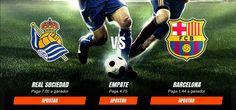 Pronosticos y cuotas para el partido entre FC Barcelona  vs Real Sociedad de Fútbol del día  27/11. http://ift.tt/2fzjGtM #EnVivo #LaLiga