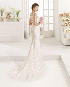 COTA vestido de novia Aire Barcelona 2017