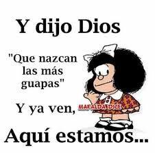 Resultado de imagen para susanita mafalda sonrie y veras Spanish Humor, Spanish Quotes, Positive Thoughts, Positive Quotes, Mafalda Quotes, Signo Libra, Clever Quotes, Kid Memes, Memes Humor