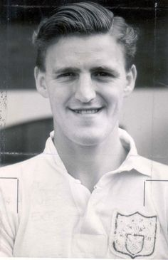 Jimmy Hill pictured in 1957